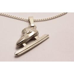 Sport-jewel stříbrný přívěsek - Rychlobrusle na short track - SJSCHA003