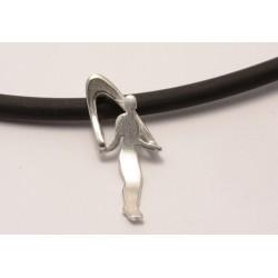 Sport-jewel stříbrný přívěsek - Rope skipping - SJROPE002