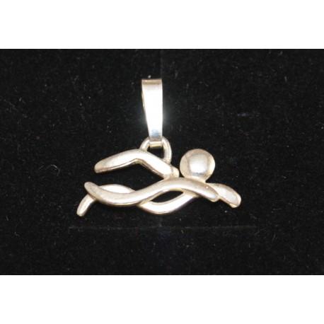 Sport-jewel stříbrný přívěsek - Plavání I - SJZWEM001