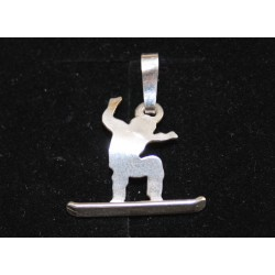 Sport-jewel stříbrný přívěsek - Snowboard - SJSKI0001