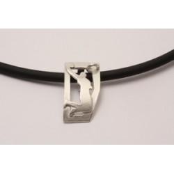 Sport-jewel stříbrný přívěsek - Basketbal I - SJBASK001