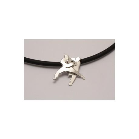Sport-jewel stříbrný přívěsek - Judo - SJJUDO001