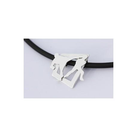 Sport-jewel stříbrný přívěsek - Karate I - SJKARA001
